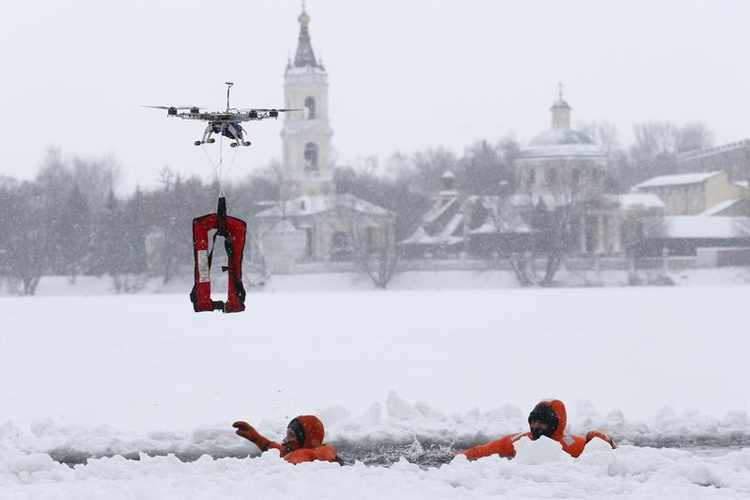 Future uses of drones - Firefighting and Search and Rescue