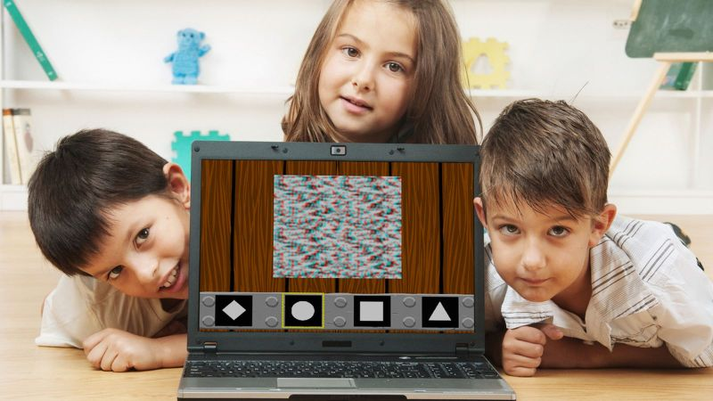 Are electronic games for kids truly effective for correcting lazy eye conditions?