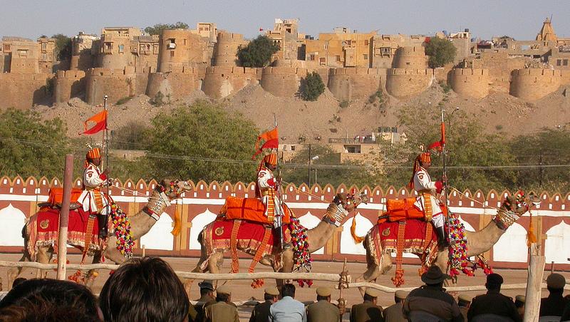 Jaisalmer desert festival Festivals in India in January