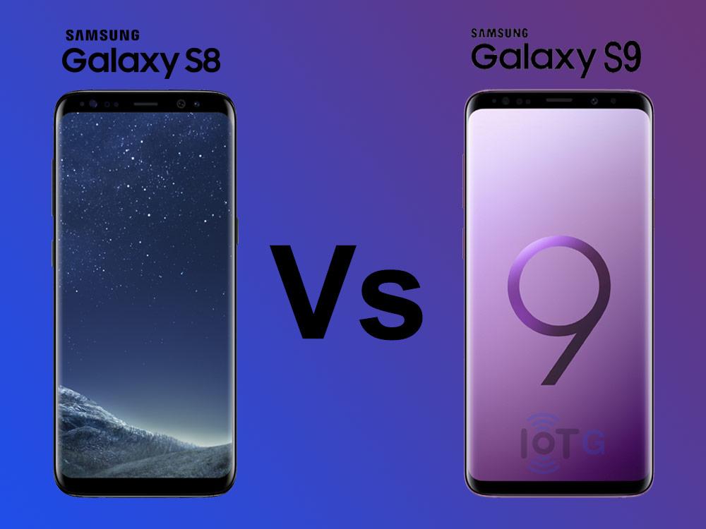 Compare Samsung Galaxy S8 and Galaxy S9