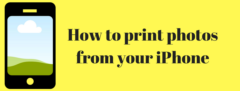 How to print photos from your iPhone (1)