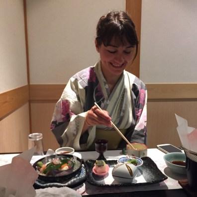 I am addicted to Japanese food!