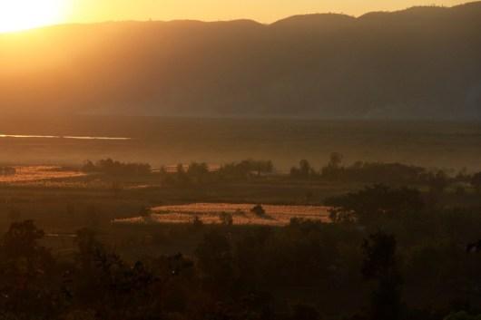 Red mountain Myanmar