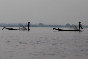 Inle Lake Intha rowers