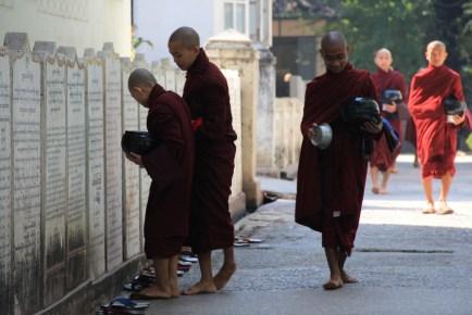 Mandalay monks