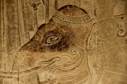 Beautiful bas-relief detail