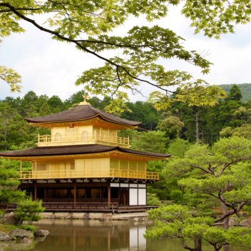 Kinkaku-ji ( the golden pavilion)