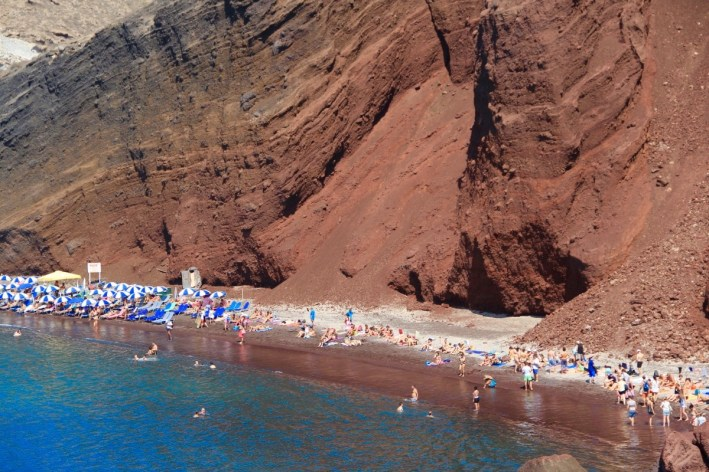 The Red Beach, Santorini