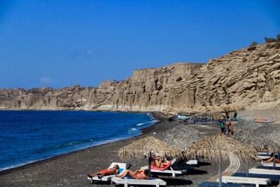 Vlichada beach, Santorini