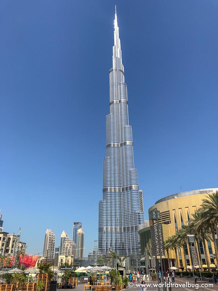 Dubai fountains, Dubai mall, Burj Khalifa