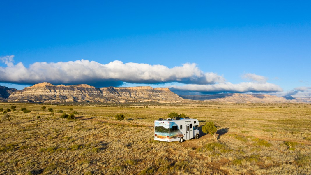 Navajo Land Boondocking