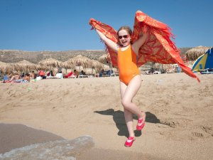 Falassarna beach, Crete - my little Wild Thing - @World Travel Mama