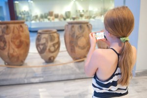 Heraklion, Archaeological Museum, giant urns - @World Travel Mama