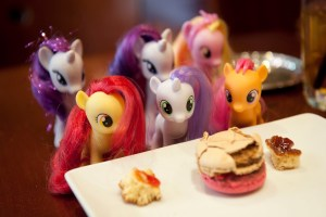 Macaron and My Little Ponies - @World Travel Mama