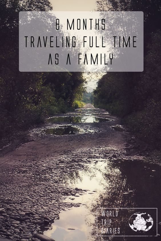 We've been traveling for 8 months with our kids now. I'm telling all about it here!