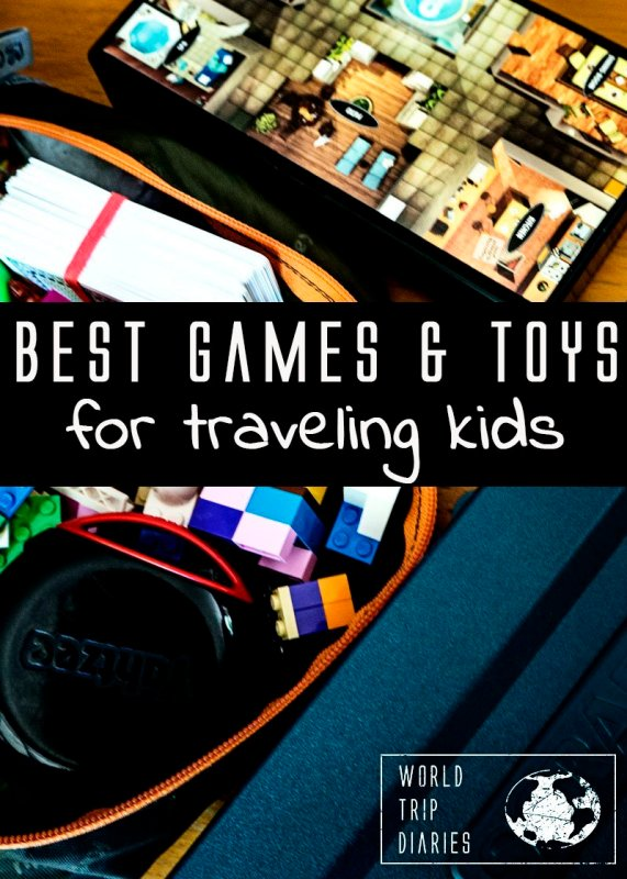 After over a year traveling non stop, here's the list of the best games and plays for traveling kids