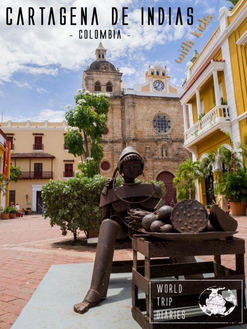 Cartagena, in Colombia, is one incredible destination: hot, sunny, beachy, tropical, Caribbean. The food is delicious, the people are amazing, it's incredibly beautiful. Everything that makes one place special, it has. Great for families with kids, couples, and solo travelers!