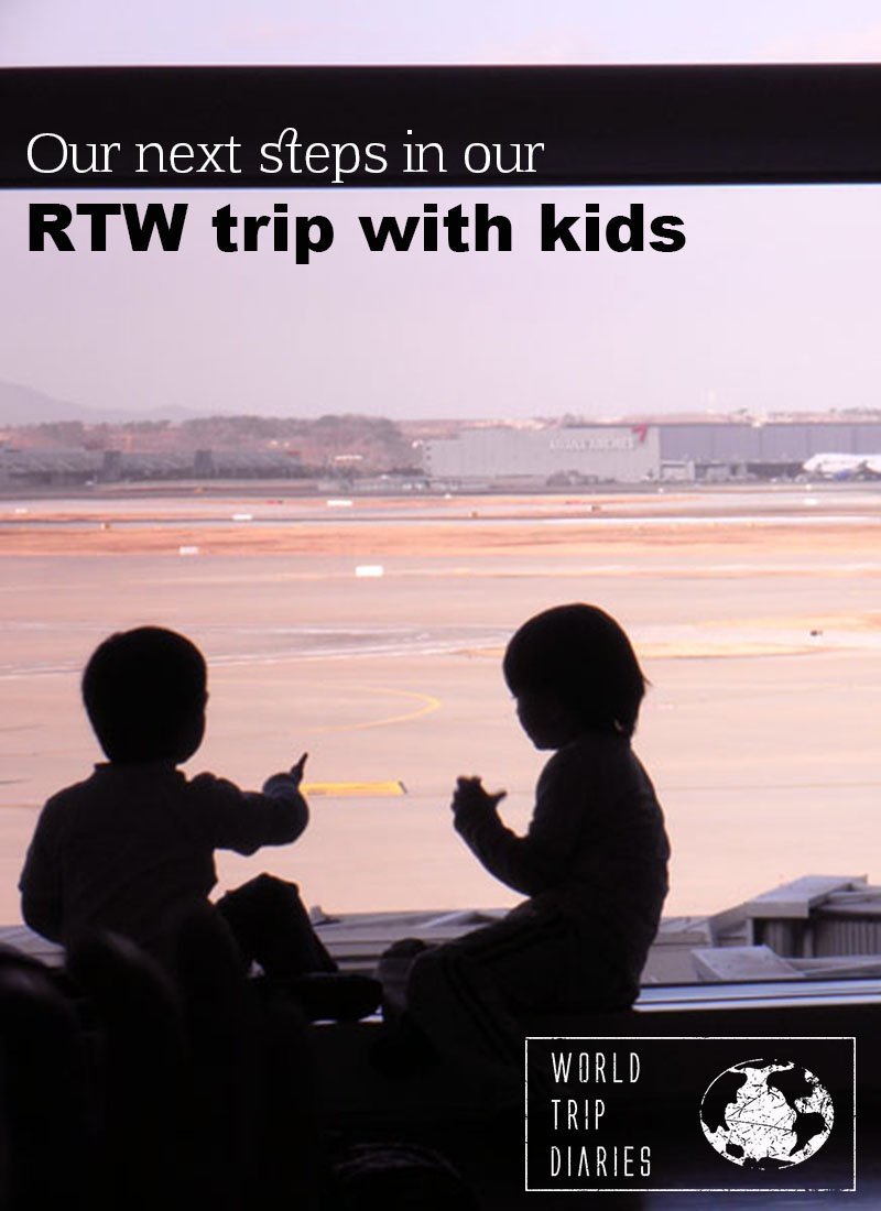 Click here to read more about the next steps to our round-the-world trip with our 4 kids!