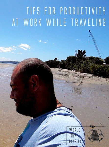 Travel and work at the same time can be hard to juggle. Here are 3 tips to make work more productive!