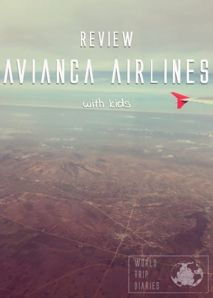 We flew Avianca with our 4 kids quite a few times in a short period. Here's what we think of it!