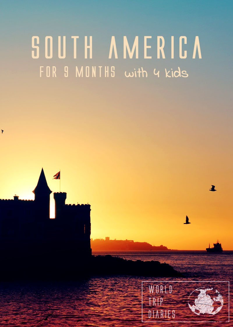 Considering taking your kids to South America? Click to read how our 9-months trip through South America with kids was!