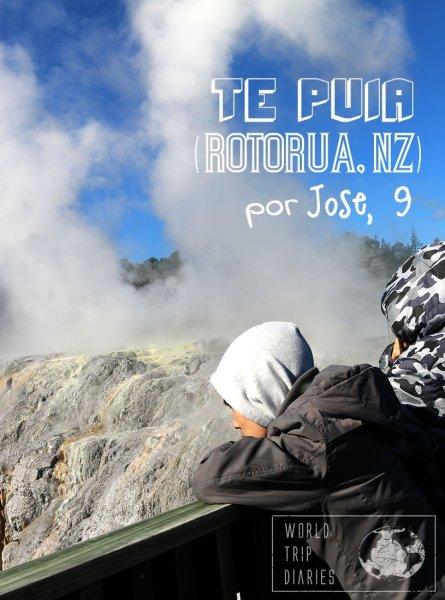 Visitamos o Te Puia, em Rotorua (NZ) e o Zé (9 anos) conta a visão dele do lugar! Clique para ler!