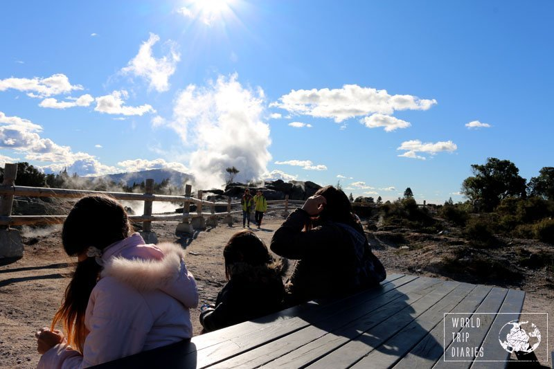 Te Puia, Rotorua, NZ, is a great place to see geysers and experience the Maori culture!