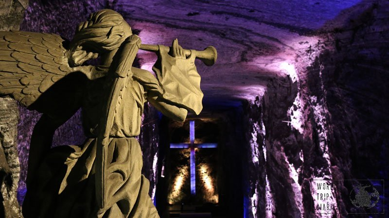 The Salt Cathedral near Bogota is an incredible place that many people visit while in Bogota. We visited it with our kids.