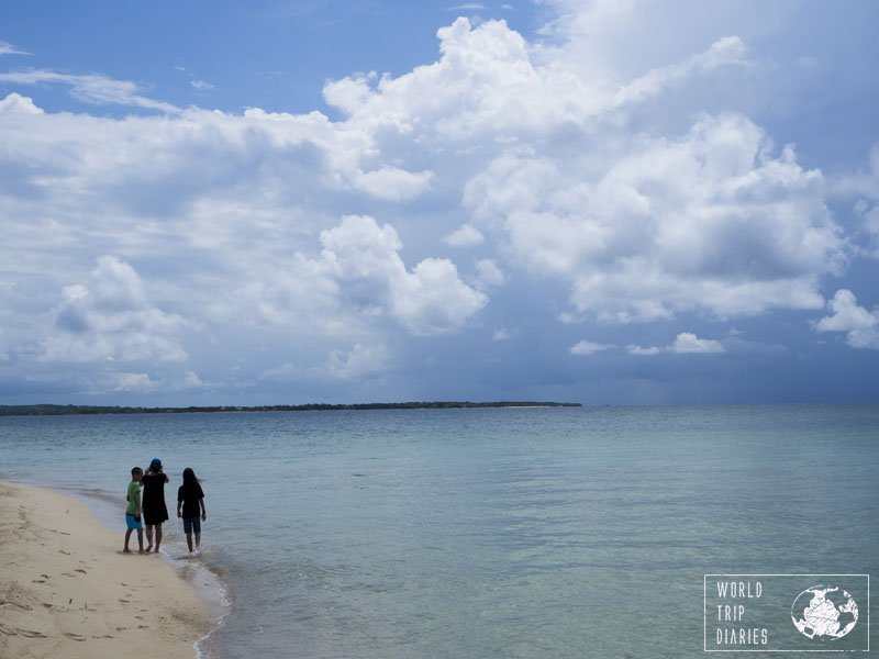 Bendita Beach was one piece of heaven. Oh, the Caribbeans! This was one of the things the kids loved about our trip!