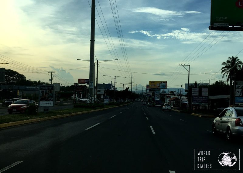 Driving in Nicaragua is a lot like driving anywhere in Latin America: crazy, chaotic, and yet, a great experience!