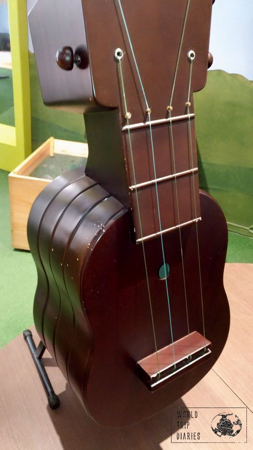 Museo Antioquia, Botero, Guitar, Medellin, Colombia