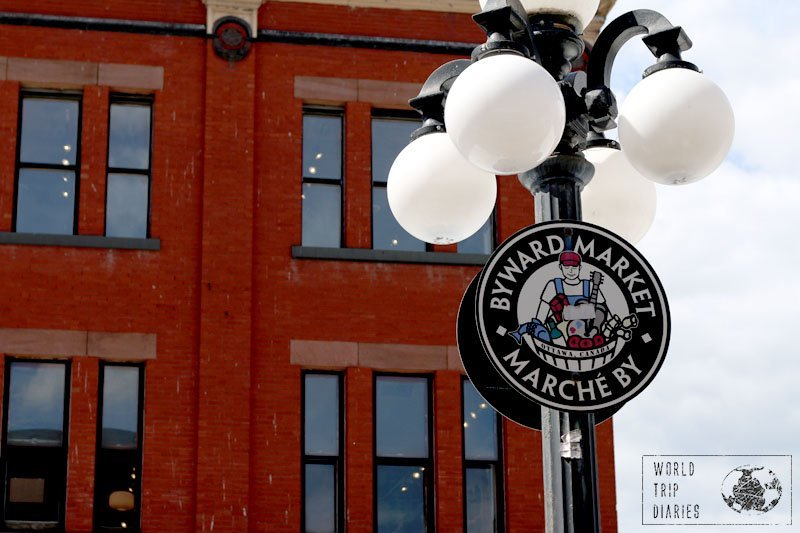Families will love the amount of restaurant options in the Byward Market area!