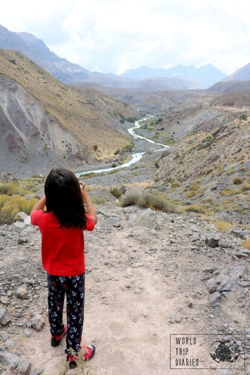 The youngest in the Andes, Chile, South America