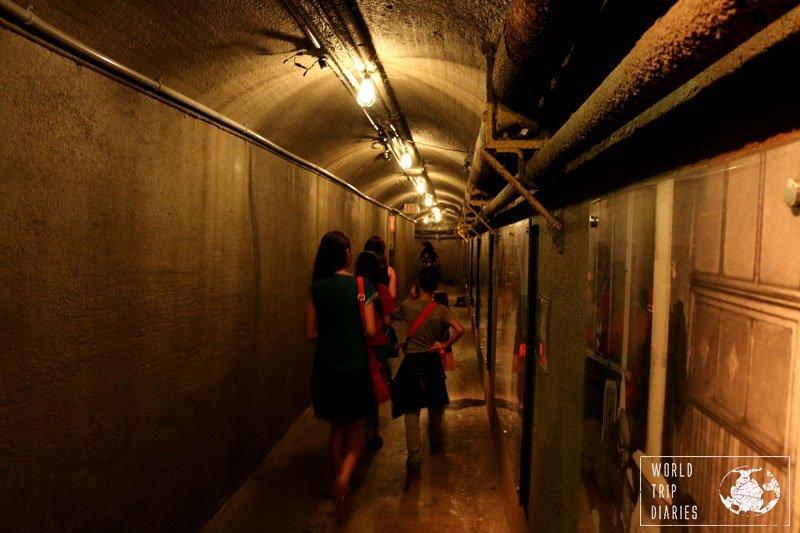 Casa Loma Tunnel, Toronto, Ontario, Canada