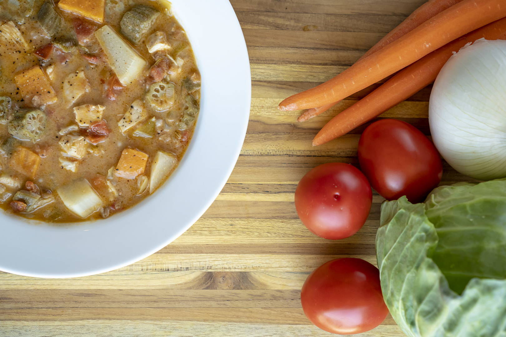 In The Kitchen Go Grow Glow Vegetable Soup Recipe