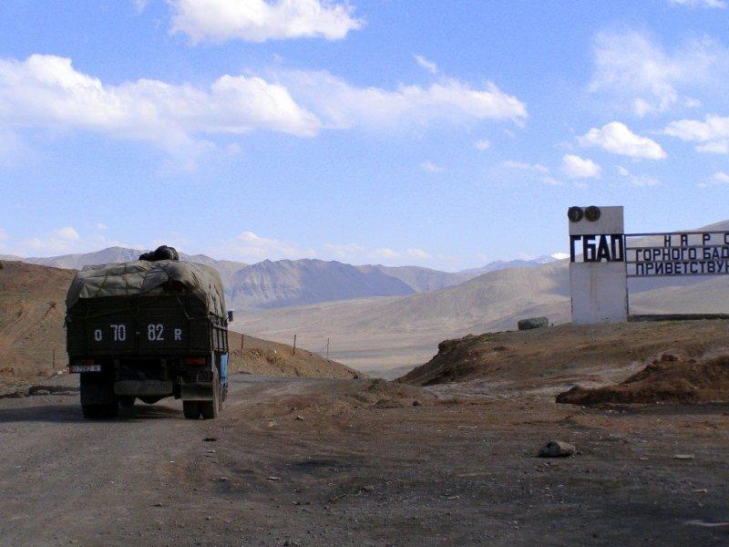 Leaving the GBAO, Tajikistan Pamir Highway
