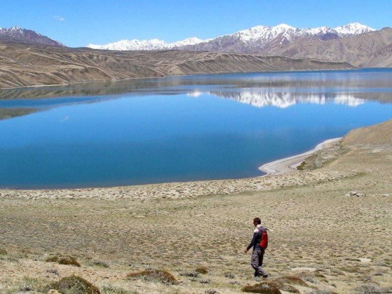 Travel in Tajikistan Lake Bulunkul Pamir Highway