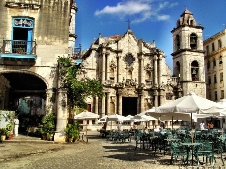 Havana's magnificent cathedral, Cuba