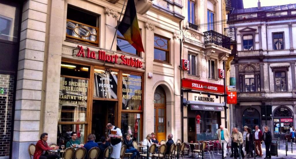 La Morte Subite, Belgian beer in Brussels Photo by Natasha von Geldern