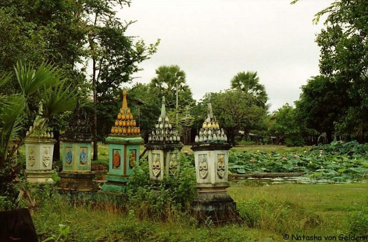 South Laos cemetery