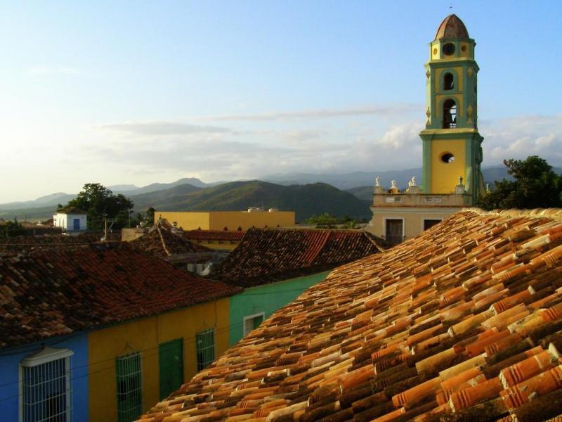 View of Trinidad, Cuba