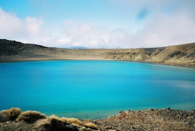 Blue Lake, Tongariro Crossing, New Zealand