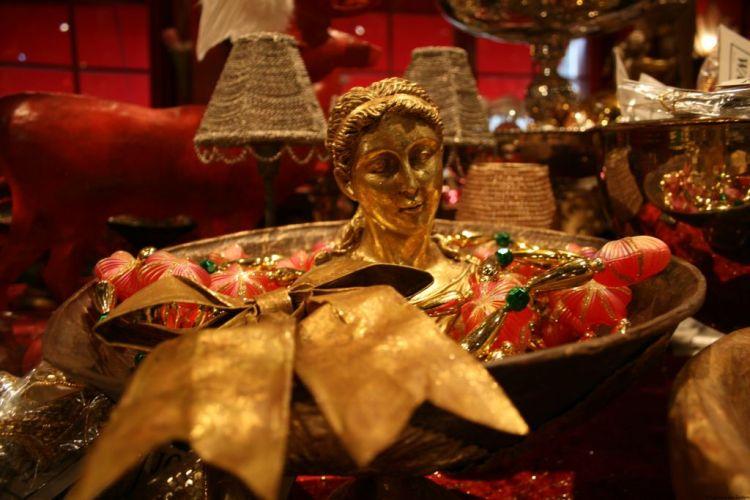 Basle Christmas Shop Switzerland