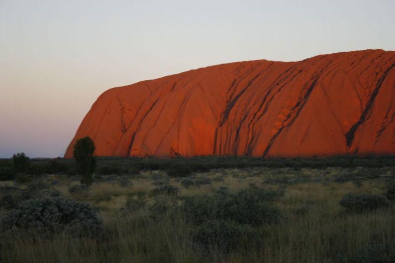Ayers Rock sunset, Uluru