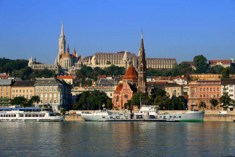 Budapest view Hungary