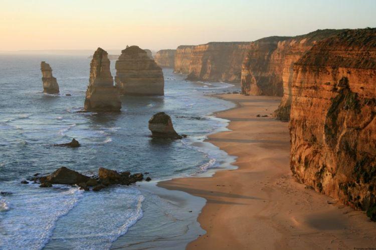 12 Apostles sunset, Great Ocean Road, Australia
