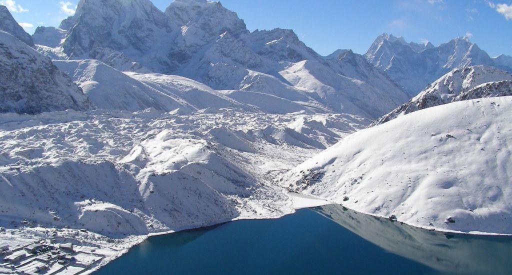 Gokyo Ri trek in Nepal, Asia