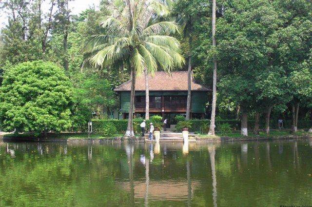 Ho Chi Minh's house, Hanoi, Vietnam