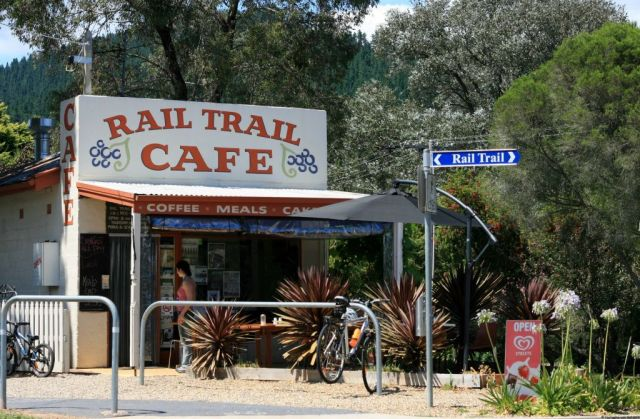 The Rail Trail Cafe, Victoria, Australia