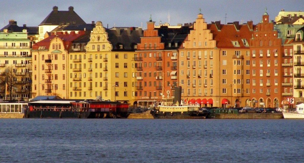 Old-houses-Stockholm-Sweden